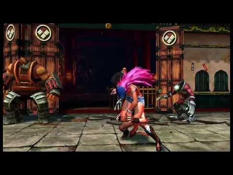 Street Fighter X Tekken - B-Roll gameplay SF (Comic-Con)