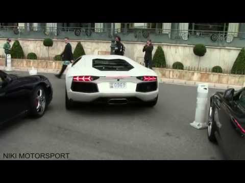 Lamborghini Aventador crashes in Monaco!