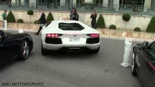 Lamborghini Aventador crashes in Monaco!