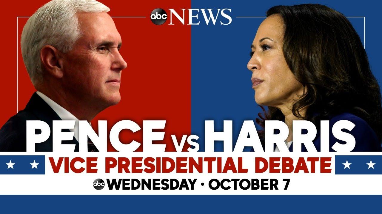 2020 Vice Presidential Debate: WATCH LIVE VP Mike Pence, Kamala Harris go head-to-head   ABC News