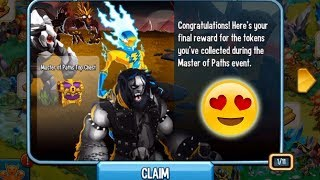 Monster  Legends Master of path top chest get reward what's inside?