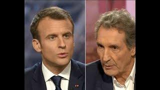 Le moment où Bourdin a mis Macron en PLS sur BFMTV