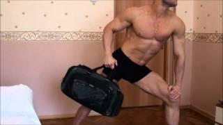 Тренировка дома и на турнике - Диета и тренировка день 5. Вес Юрия 96 кг - 4 кг