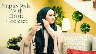 Niqaab Style With Classic Hoojeaze | Urooj Hijabeaze
