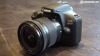 Canon EOS 4000D review - brief overview