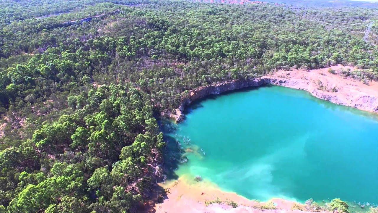 Best Dji Drone >> Karawatha Forest Quarry - DJI Inspire - YouTube