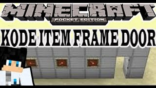 Tutorial - Kode Item Frame Door -Minecraft PE(Pocket Edition)[Bahasa Indonesia]