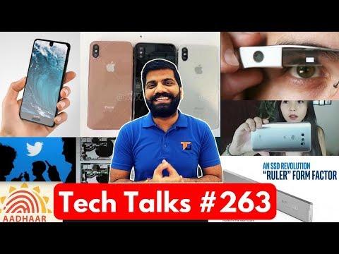 Tech Talks #263 - Amazon Sale, Mi 5X India, Sharp S2, Pixel 2 Leak, Google Glass, IIT Silk Mat