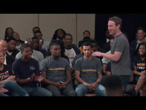 "Student Ask Mark Zuckerberg ""Is Bachelor's degree necessary for success ?"""