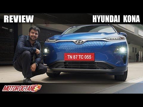 Hyundai Kona Electric - India Review | Hindi | MotorOctane