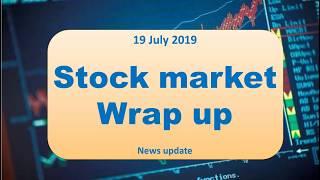 (DSM) 19July Stock market Wrap up|| News update in marathi