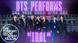 BTS: IDOL | The Tonight Show Starring Jimmy Fallon