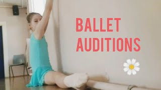 Ballet audition day, London Junior