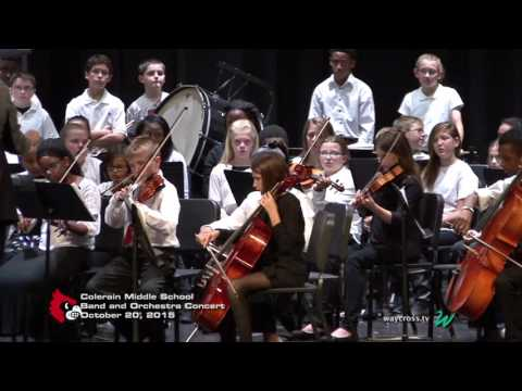 Colerain Middle School Band and Orchestra Concert of October 20, 2015
