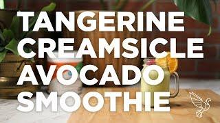 Tangerine Creamsicle Avocado Smoothie
