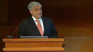 """Sebastián Piñera indicó que Chile dejará de recibir """"2 mil millones de dólares de ingresos fiscales"""""""