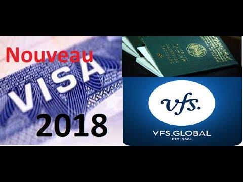 rendez-vous visa France 2018 VFS global alger مواعيد فيزا فرنسا