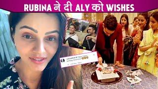 Aly Goni Birthday Celebration 2021: Rubina Dilaik Lovely Birthday Wishes For Brother Aly Goni |