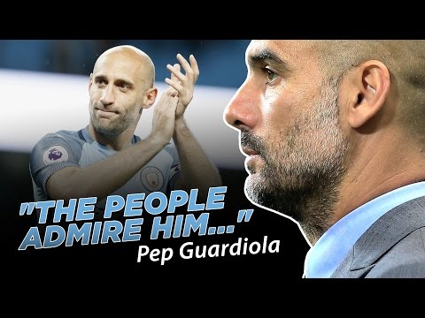 ZABALETA IS A LEGEND! | Pep Guardiola Quickfire Q&A