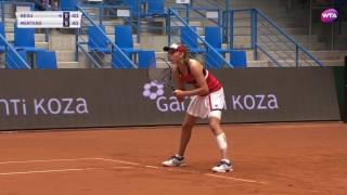 2017 Istanbul Cup Semifinals | Elise Mertens v Irina-Camelia Begu | WTA Highlights