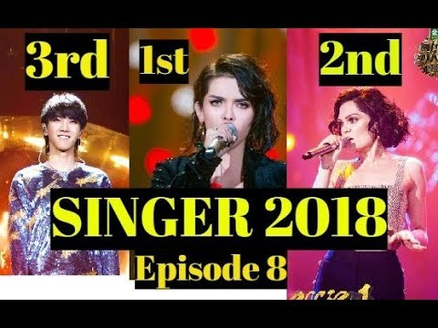 SINGER 2018 China FINAL RESULTS - Top 1 KZ TANDINGAN l Unofficial Results