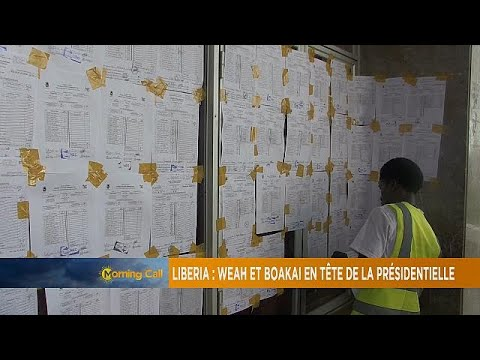 Liberia: Weah, Boakai in early result lead [The Morning Call]