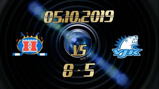05.10.2019 Hokki Red vs YJK (8-5)