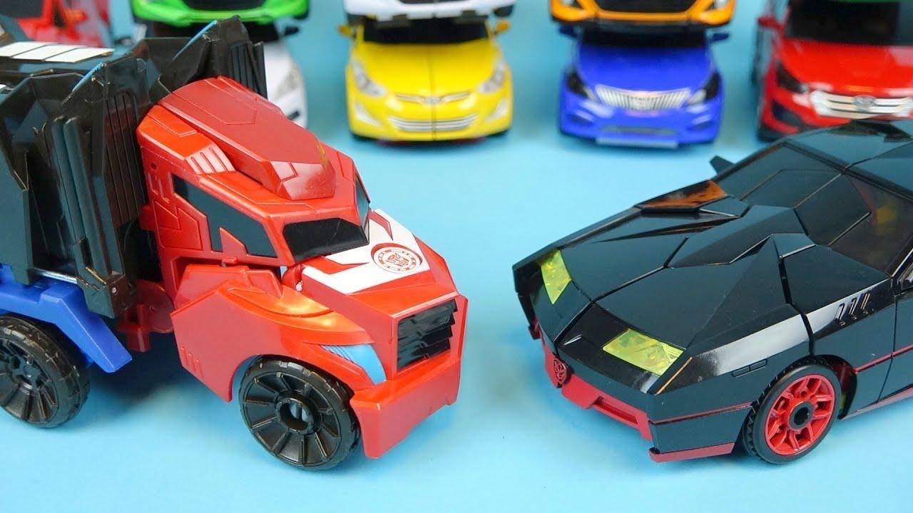 Transformers car toys black carbot optimus prime transforming transformers car toys black carbot optimus prime transforming robot cars toy pudding youtube malvernweather Images