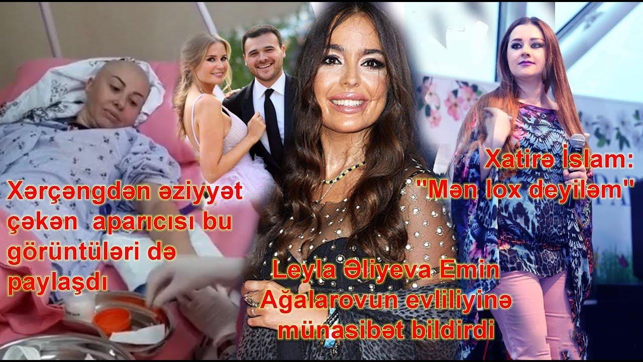 """Leyla Əliyeva Emin Ağalarovun evliliyinə münasibət bildirdi, Xatirə: """"Mən lox deyiləm"""""""