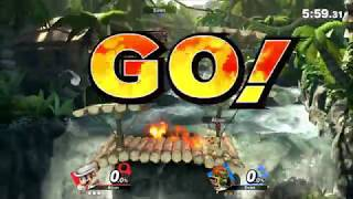 Super Smash Bros Ultimate - Ganondorf VS Mario - HD Gameplay