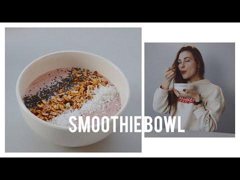 Самый Простой СМУЗИ БОУЛ | EASY SMOOTHIE BOWL 🍓 вкусный завтрак и перекус с бананом