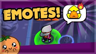 ALL THE EMOTES & In Depth Balance Changes - Brawl Stars Sneak Peek July Update 🍊