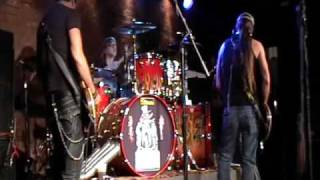 Jackyl with Gunner (15 yrs) on Drums- I Stand Alone - Lubbock, Texas