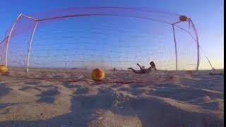 Goalkeeper Fails to Block Ball Shot by Soccer Player - 1019699-3