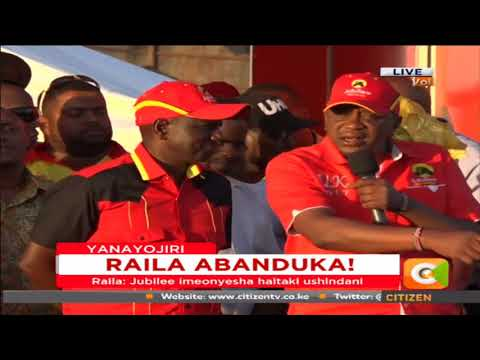 President Kenyatta says Raila has exercised his democratic right to withdraw from repeat poll