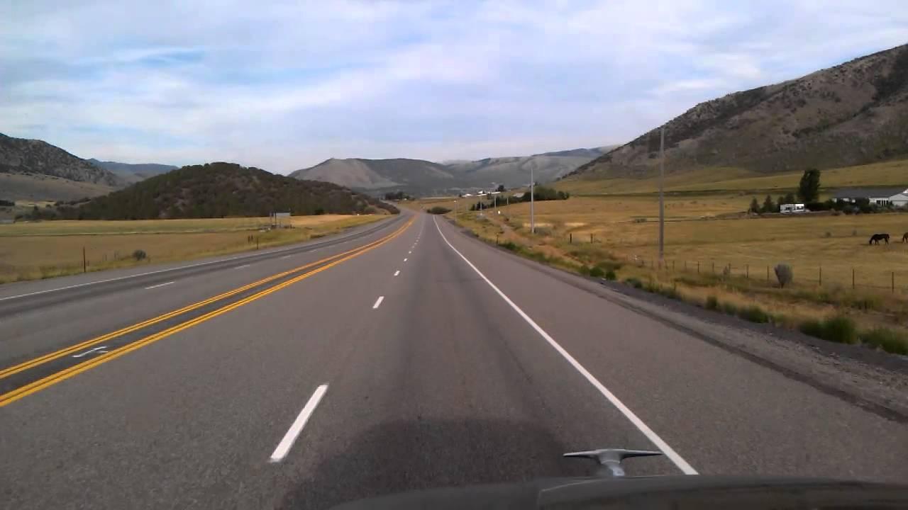 US Highway 30 East through Cannon, Idaho - YouTube