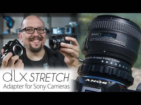 3-in-1 Lens Adapter for Sony Cameras - The DLX Stretch Packs 3 Creative Modes Into a Lens Adapter