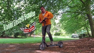 Xiaomi Folding Electric Scooter 🛴 M365 ( Youth Edition ) TEST DRIVE - REVIEW