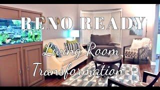 DIY Hardwood & Living Room Transformation| Reno Ready : Ep. 1