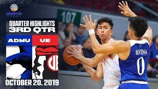ADMU vs. UE - October 20, 2019 | 3rd Quarter Highlights | UAAP 82 MB