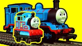 Thomas Mini Me - Smallest HO Powered Thomas