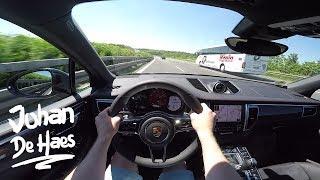 Porsche Macan GTS 360hp POV Test drive AUTOBAHN