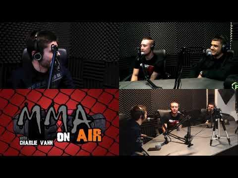 Steven 'Ocho' Peterson & and Ramiz 'Bronx Boa' Ibrahim in studio