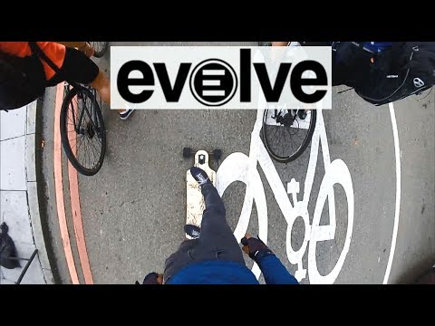 Part 1 - Commuting through streets of London on Evolve electric longboard