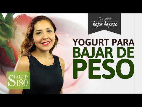 puedo bajar de peso comiendo yogurt