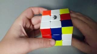 Самый простой способ собрать кубик рубика.(этап 2)