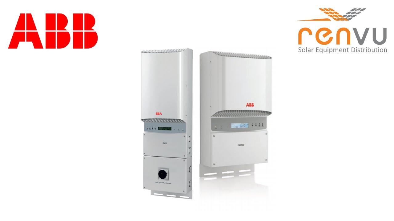ABB (POWER-ONE) PVI 3.0, PVI 3.6, PVI 4.2 1-Phase Grid Tie Inverters on