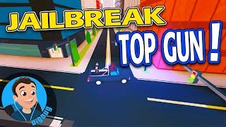 My Kid and I are getting the Top Gun Badge in Roblox Jailbreak! Roblox Jail Break