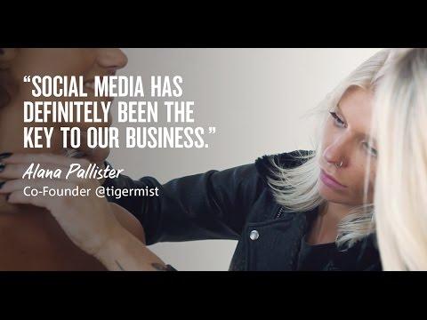 Social media is fundamental to Tiger Mist's success