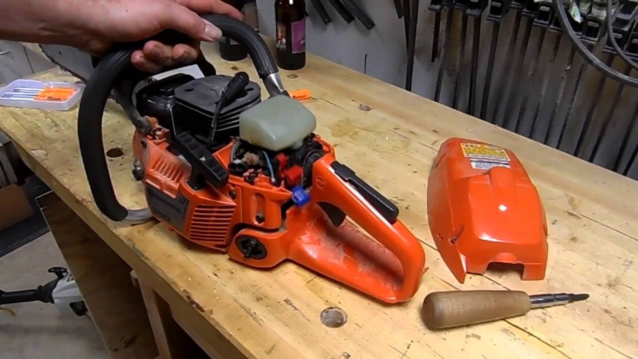 husqvarna 350 - kill switch repair